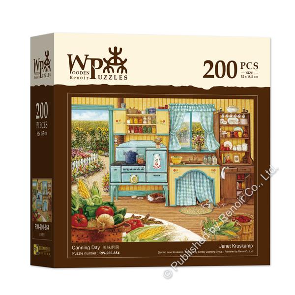 美味廚房/200 片/珍妮˙克蘿絲坎普/木質